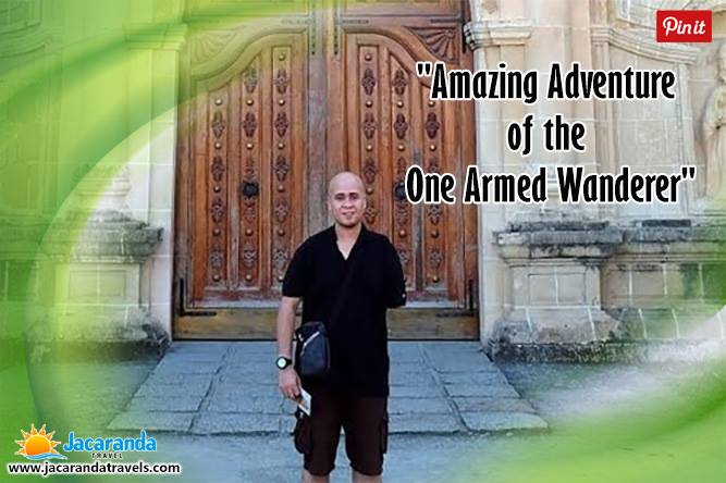 Ed Puno - One armed wanderer pinterest