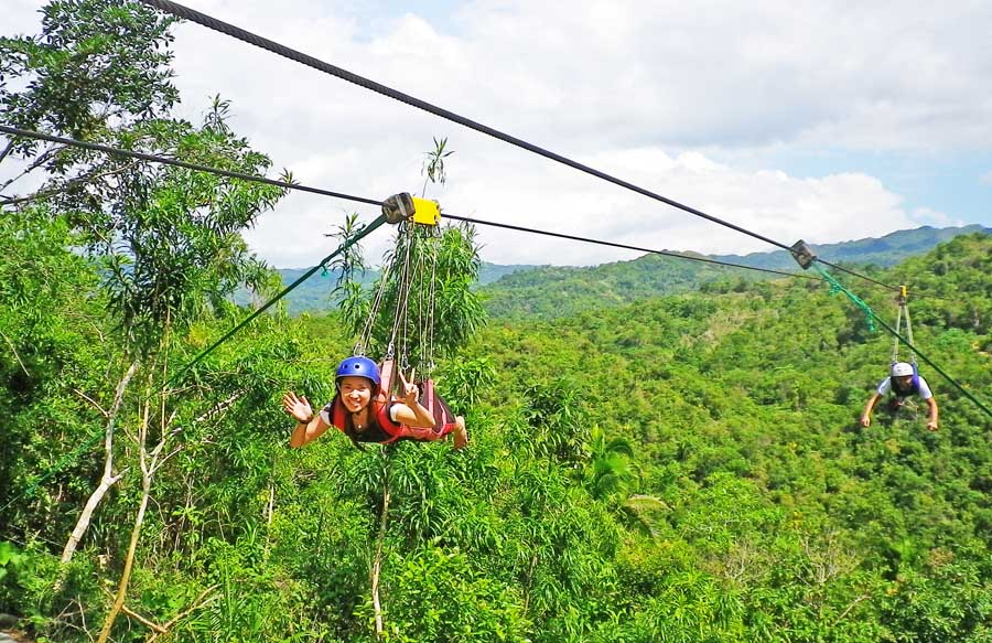 BOHOL DAY/COUNTRY WITH ZIPLINE RIDE TOUR PACKAGE