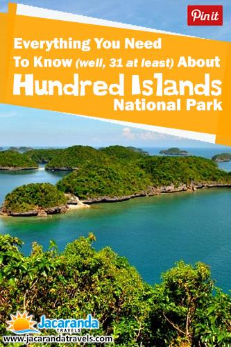 everyting you need to know about hundred island national park