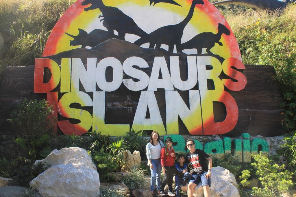 dinosaur island baguio